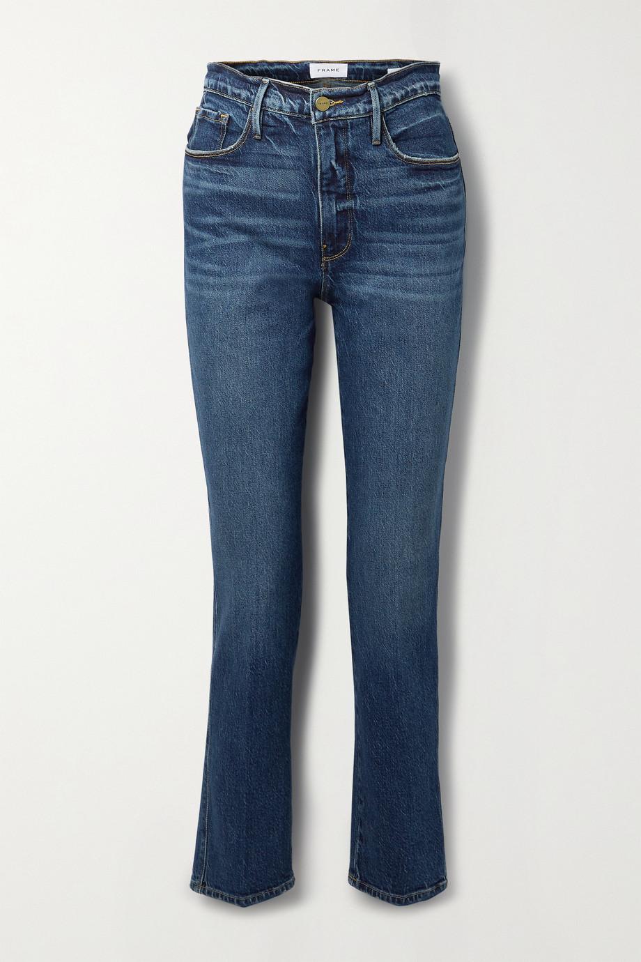 FRAME Le Sylvie high-rise slim-leg jeans