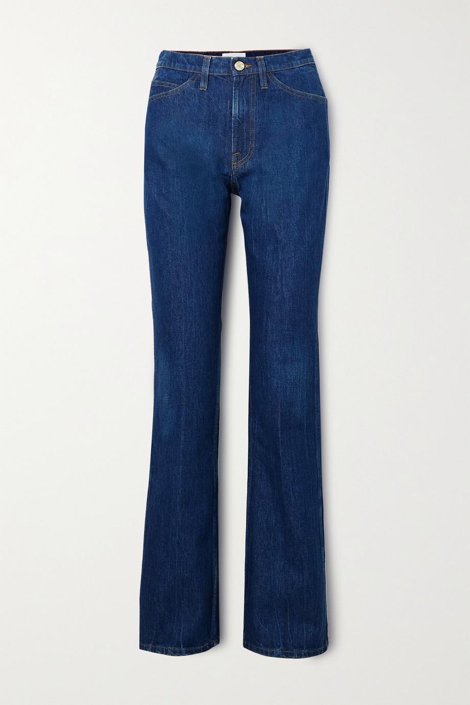 FRAME Le Italien high-rise flared jeans
