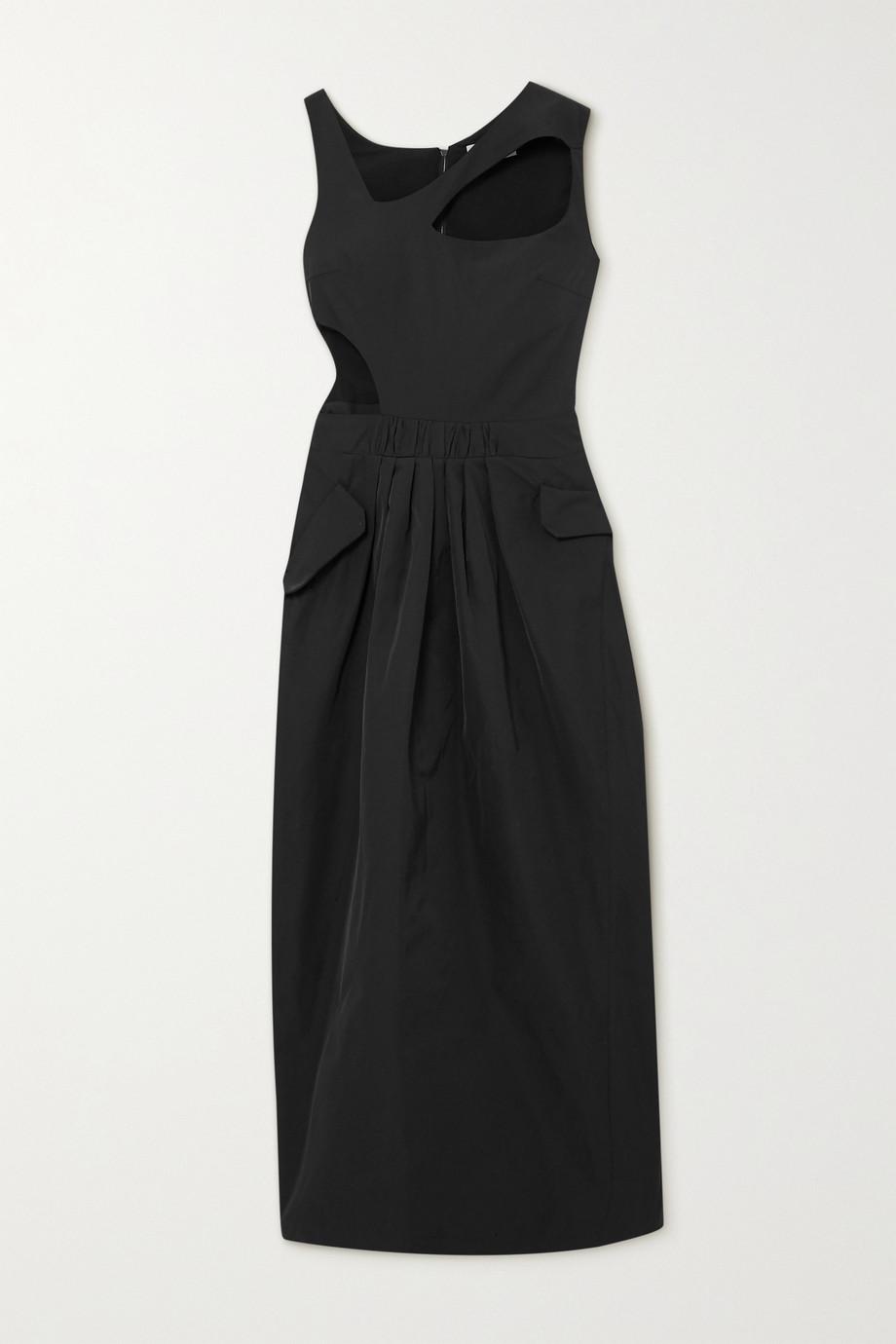 Preen by Thornton Bregazzi Norina cutout taffeta maxi dress