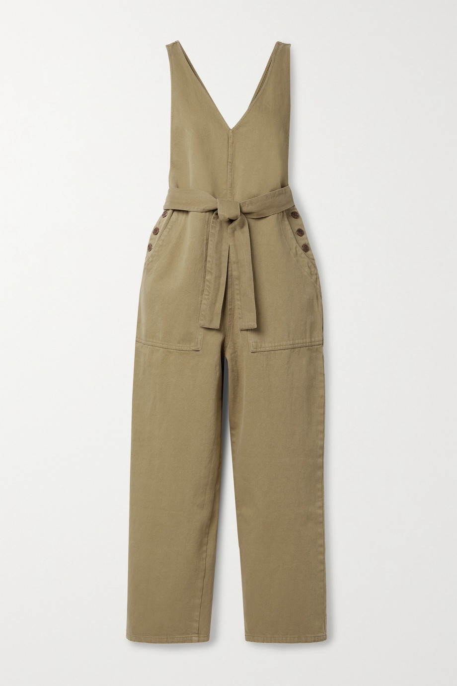 Alex Mill Combi-pantalon en jean à ceinture Ollie