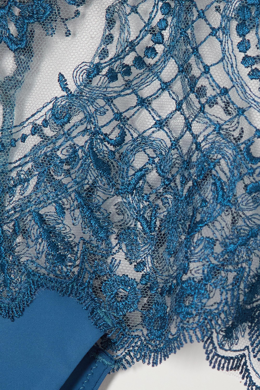 I.D. Sarrieri I Found My Love in Portofino Höschen aus besticktem Tüll und Satin