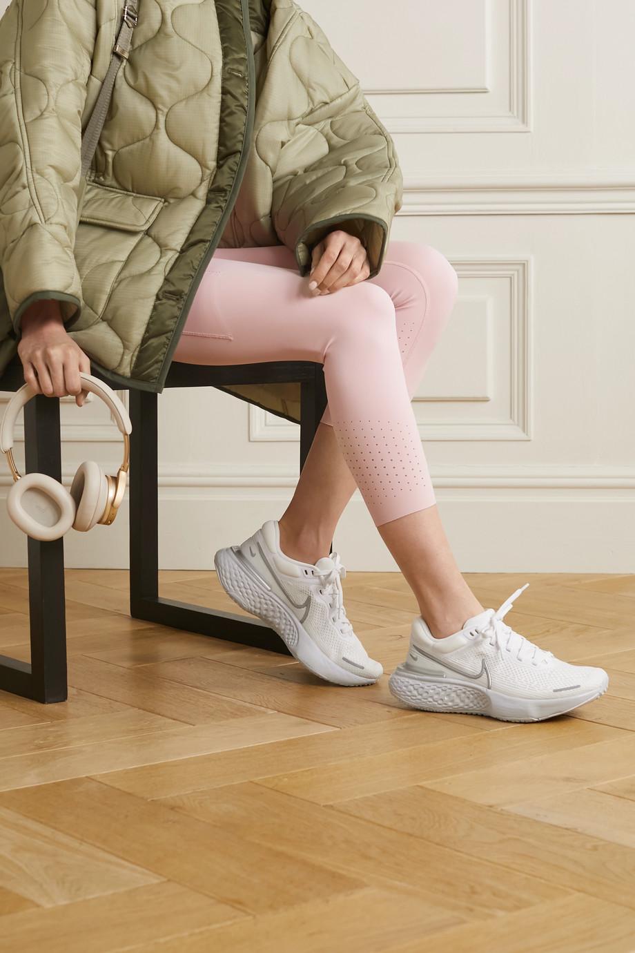 Nike ZoomX Invincible Run neoprene-trimmed Flyknit sneakers