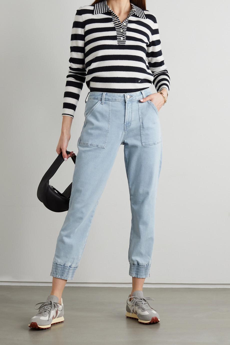 J Brand Pantalon de survêtement raccourci en jean stretch Arkin