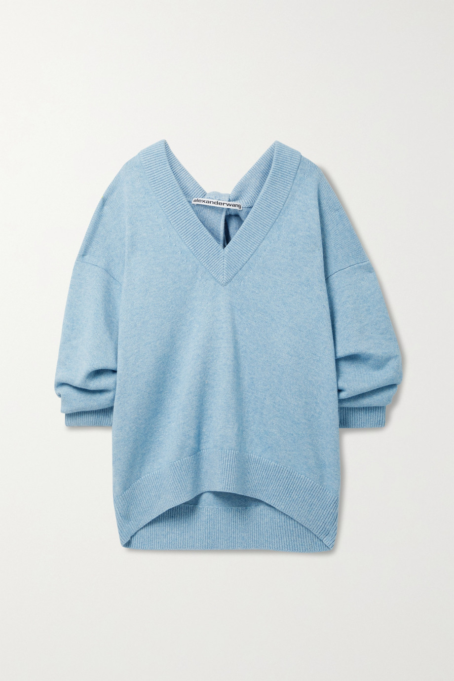 Alexander Wang Oversized twisted knitted sweater