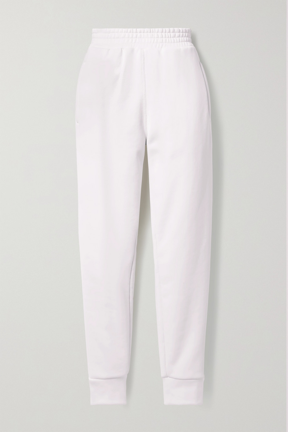 alexanderwang.t Pantalon de survêtement en jersey de coton mélangé à finitions en jacquard