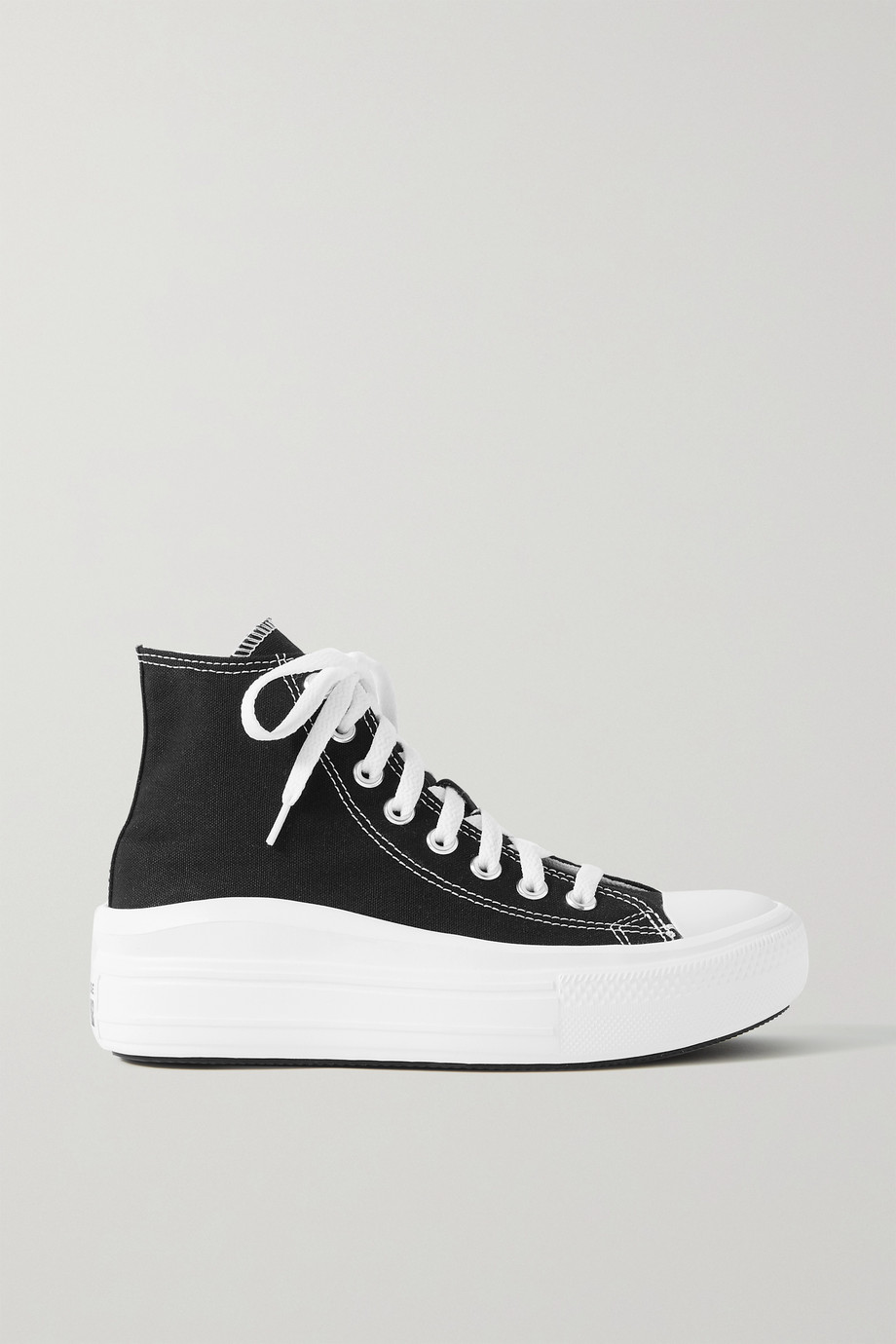 Converse Chuck Taylor All Star Move canvas high-top platform sneakers