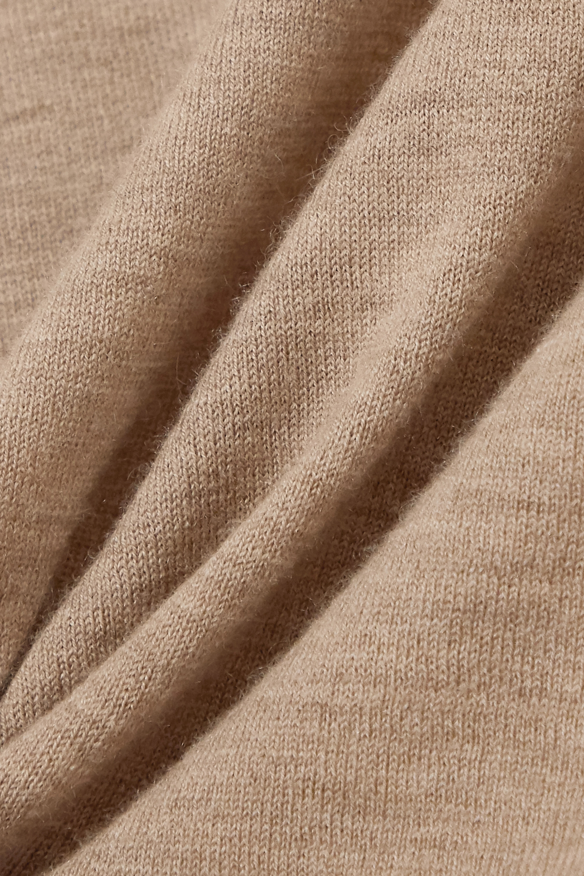 LOULOU STUDIO Prince ärmelloser Pullover aus einer melierten Woll-Kaschmirmischung