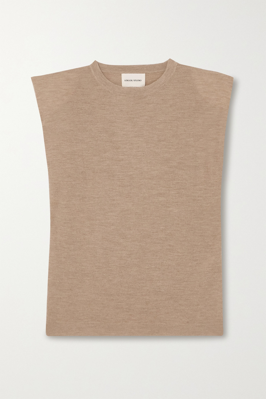 LOULOU STUDIO Prince mélange wool and cashmere-blend sweater