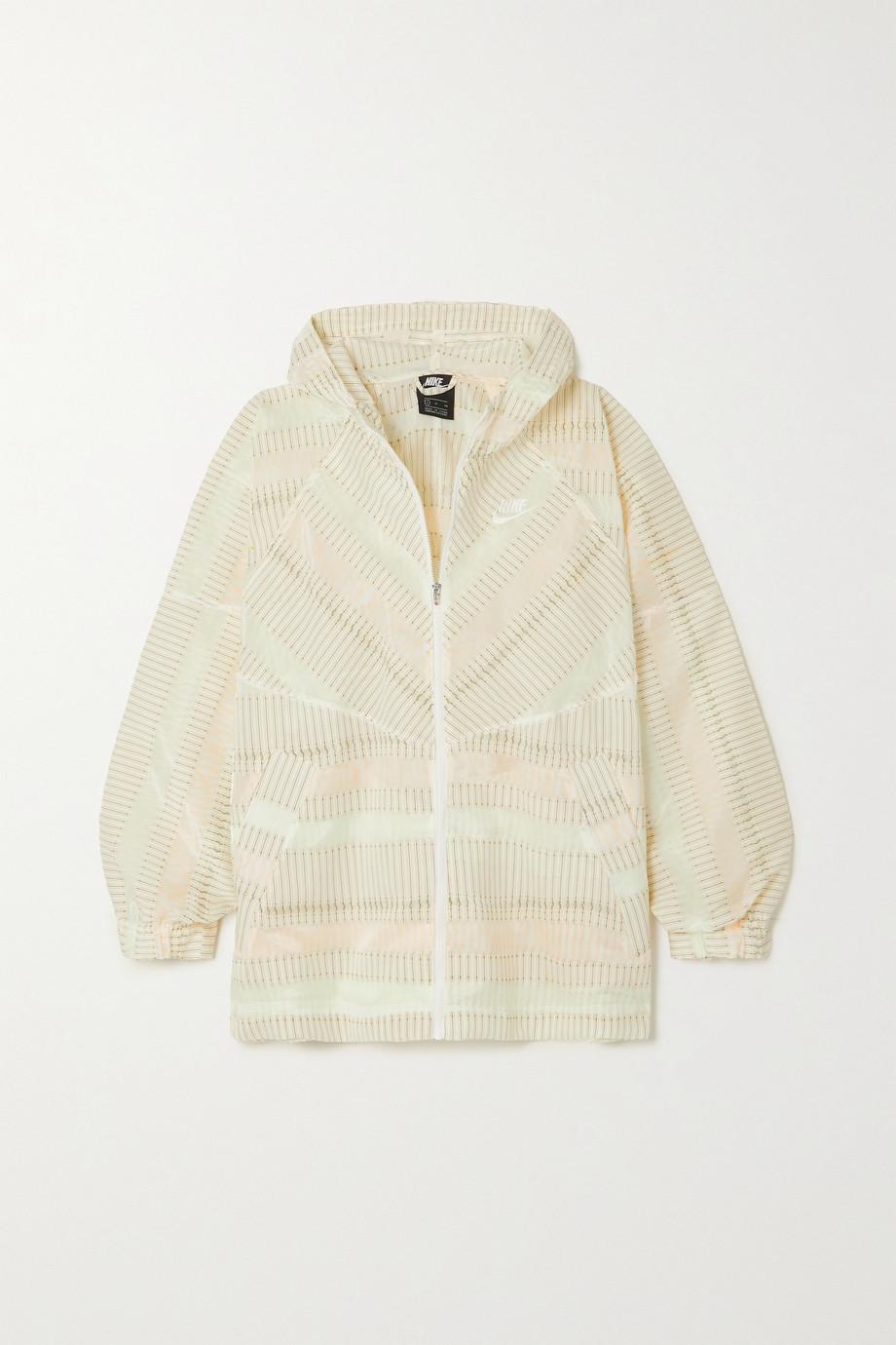 Nike Windrunner oversized recycled jacquard jacket