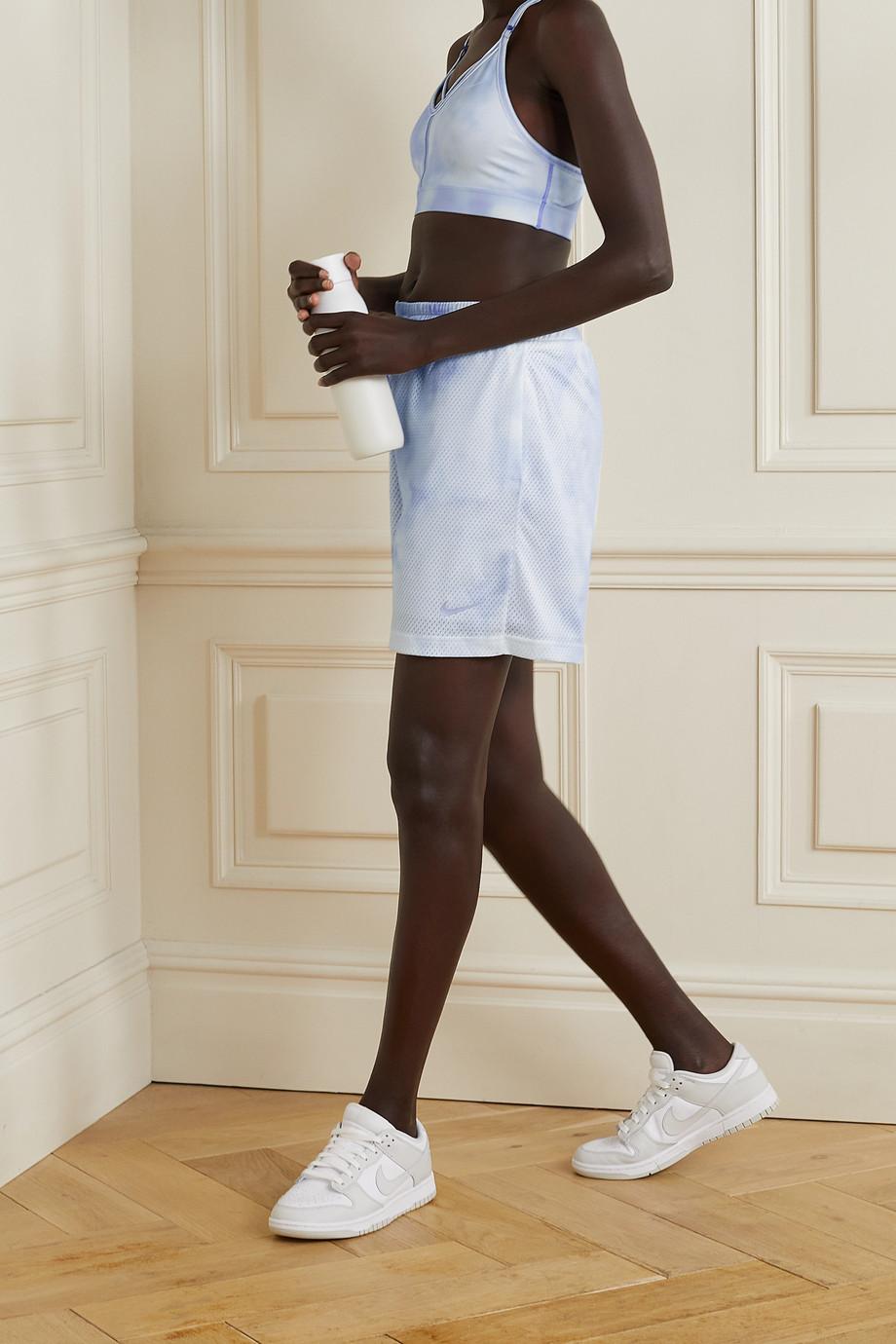Nike Icon Clash tie-dyed mesh shorts