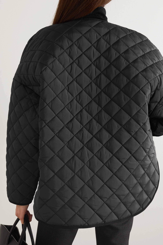 Totême Veste oversize en tissu technique matelassé Dublin