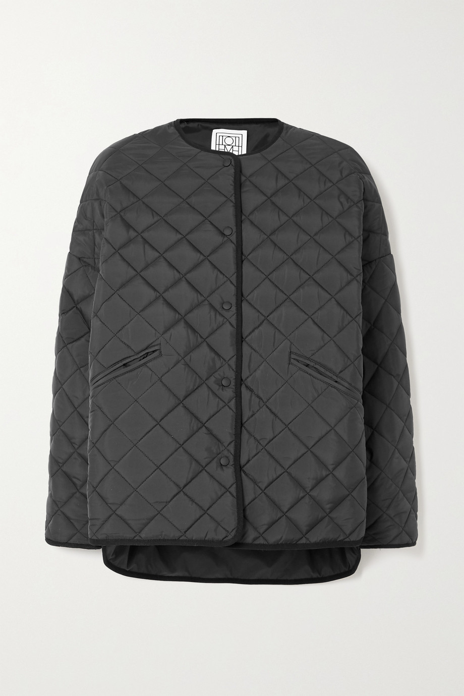 Totême Dublin oversized quilted shell jacket