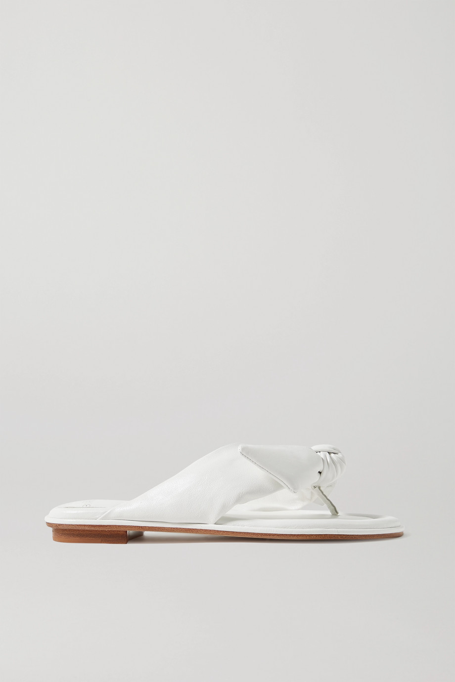 Alexandre Birman Clarita leather flip flops