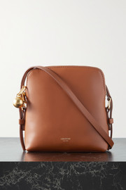 Oroton Willow Square small leather shoulder bag