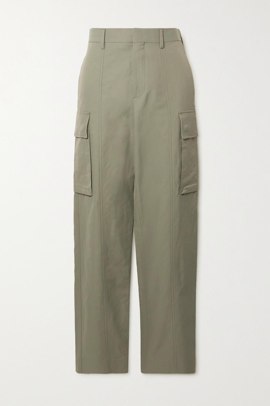 Stella McCartney Pantalon droit en serge