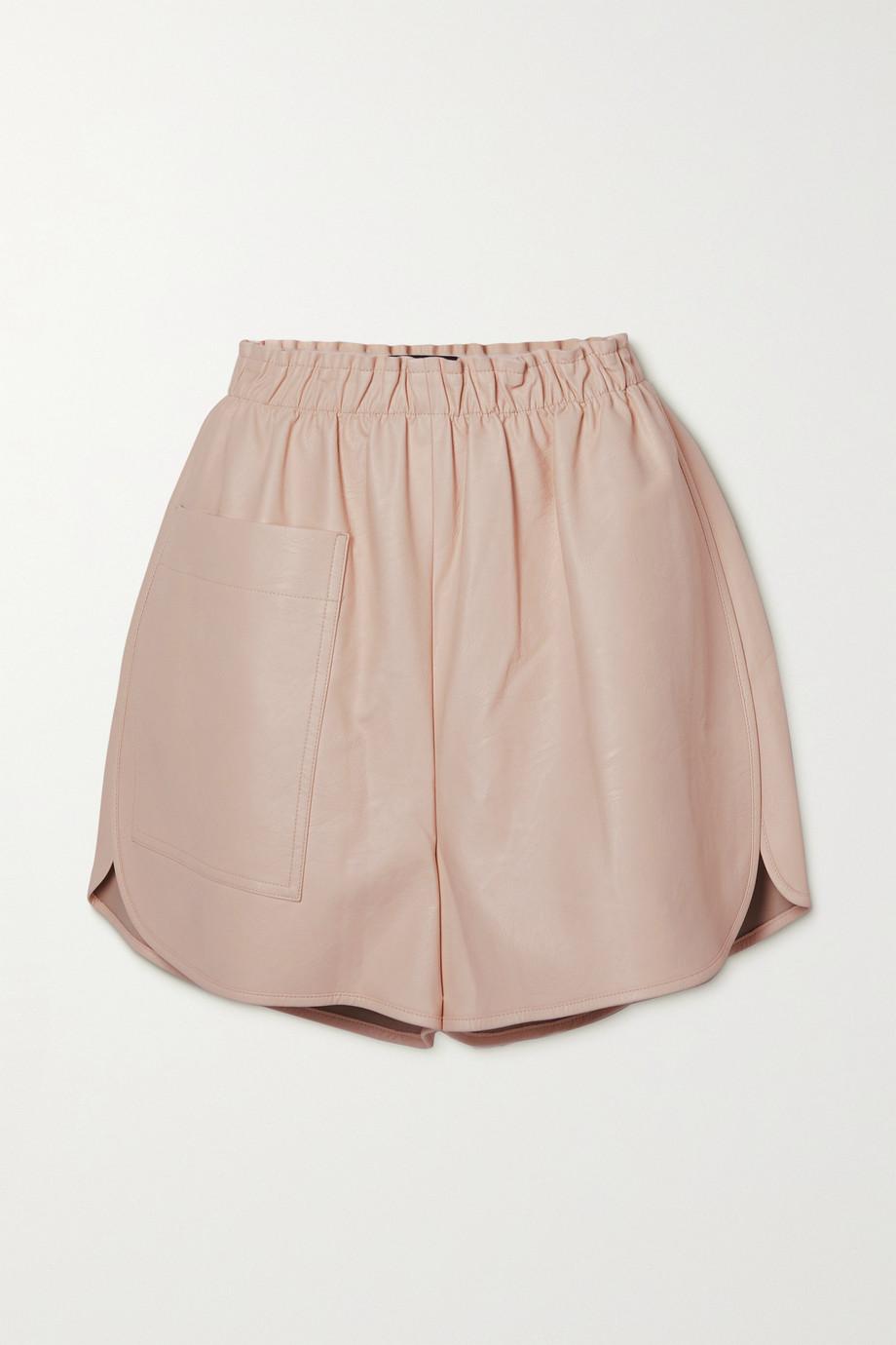 Stella McCartney Lane vegetarian leather shorts