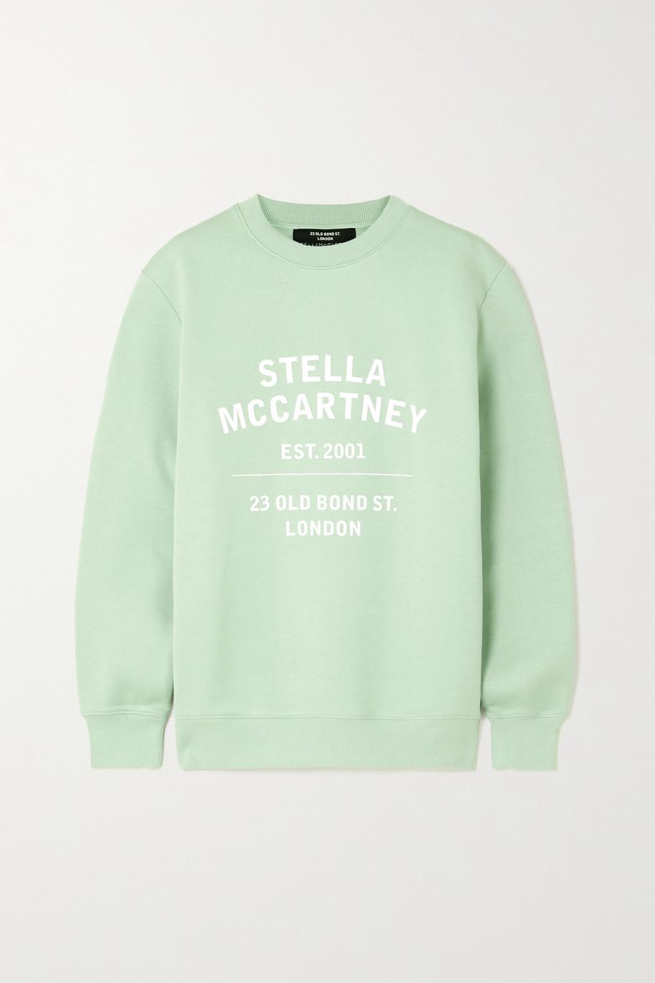 Stella McCartney Sweat en jersey de coton imprimé