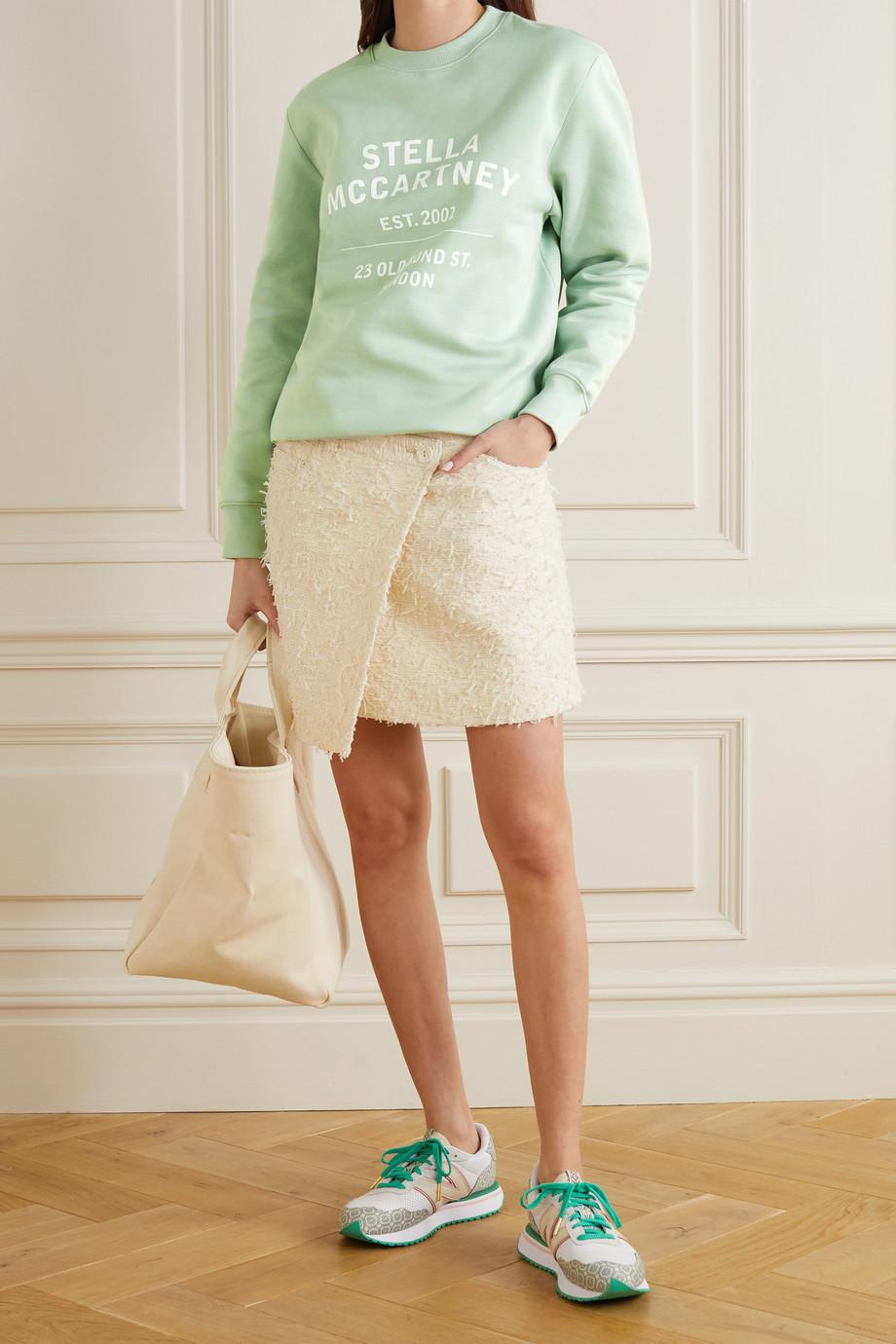 Stella McCartney Printed cotton-jersey sweatshirt