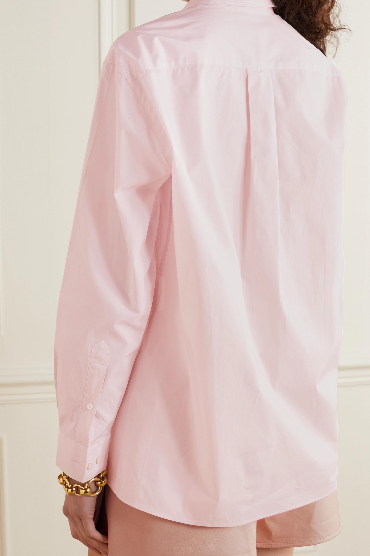 Stella McCartney + Yoshitomo Nara Saul printed organic cotton-poplin shirt