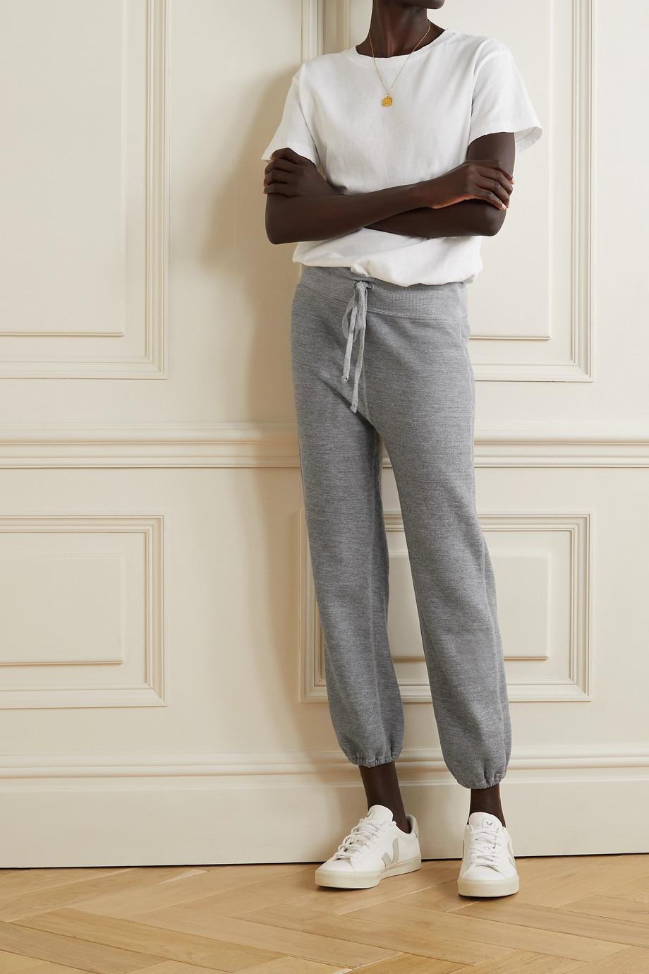 Nili Lotan Pantalon de survêtement en jersey de coton mélangé LA