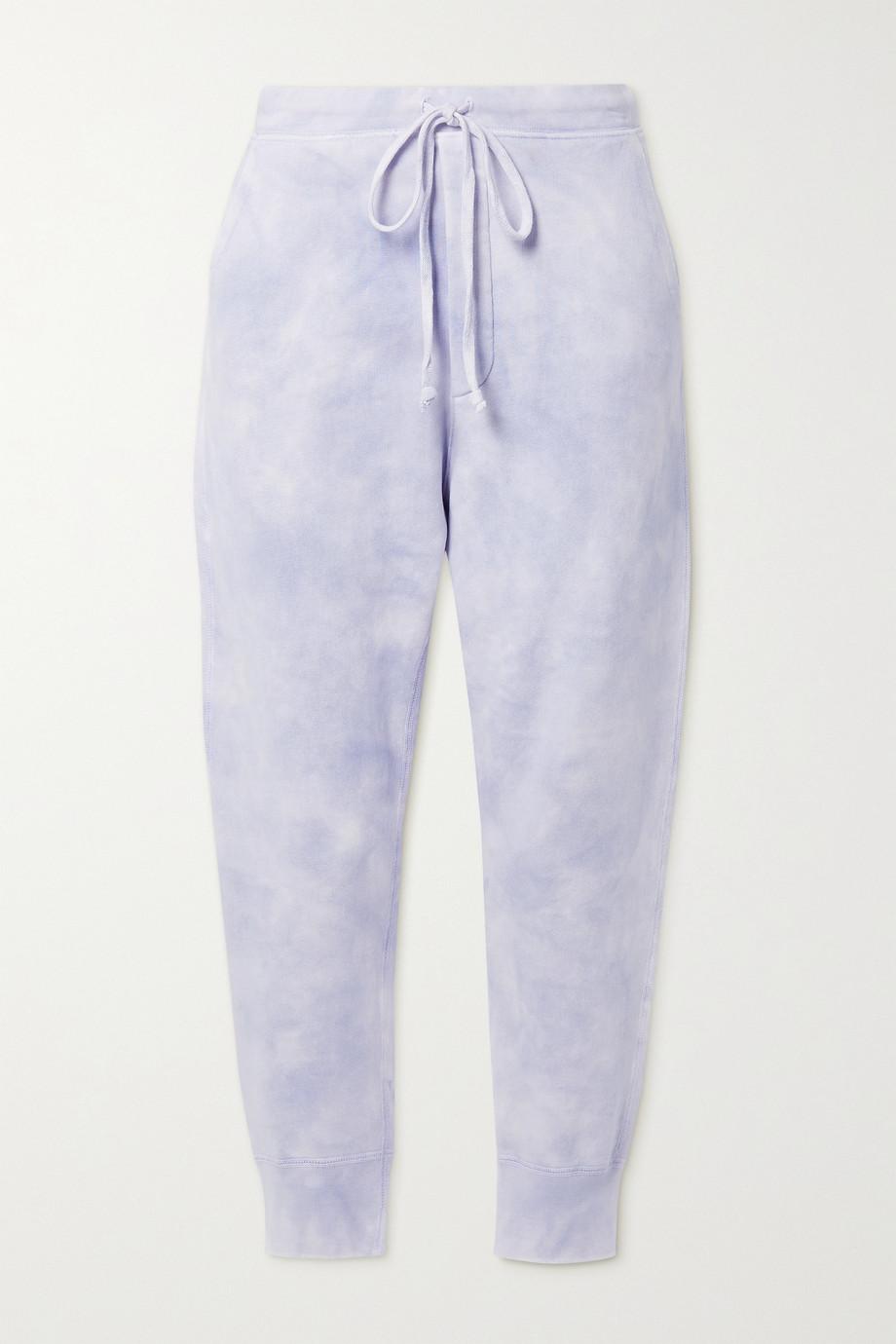 Nili Lotan Pantalon de survêtement raccourci en jersey de coton tie & dye Nolan
