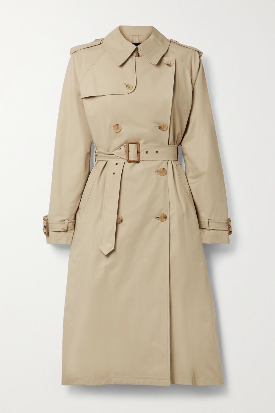 Nili Lotan Trench-coat en coton mélangé Tanner