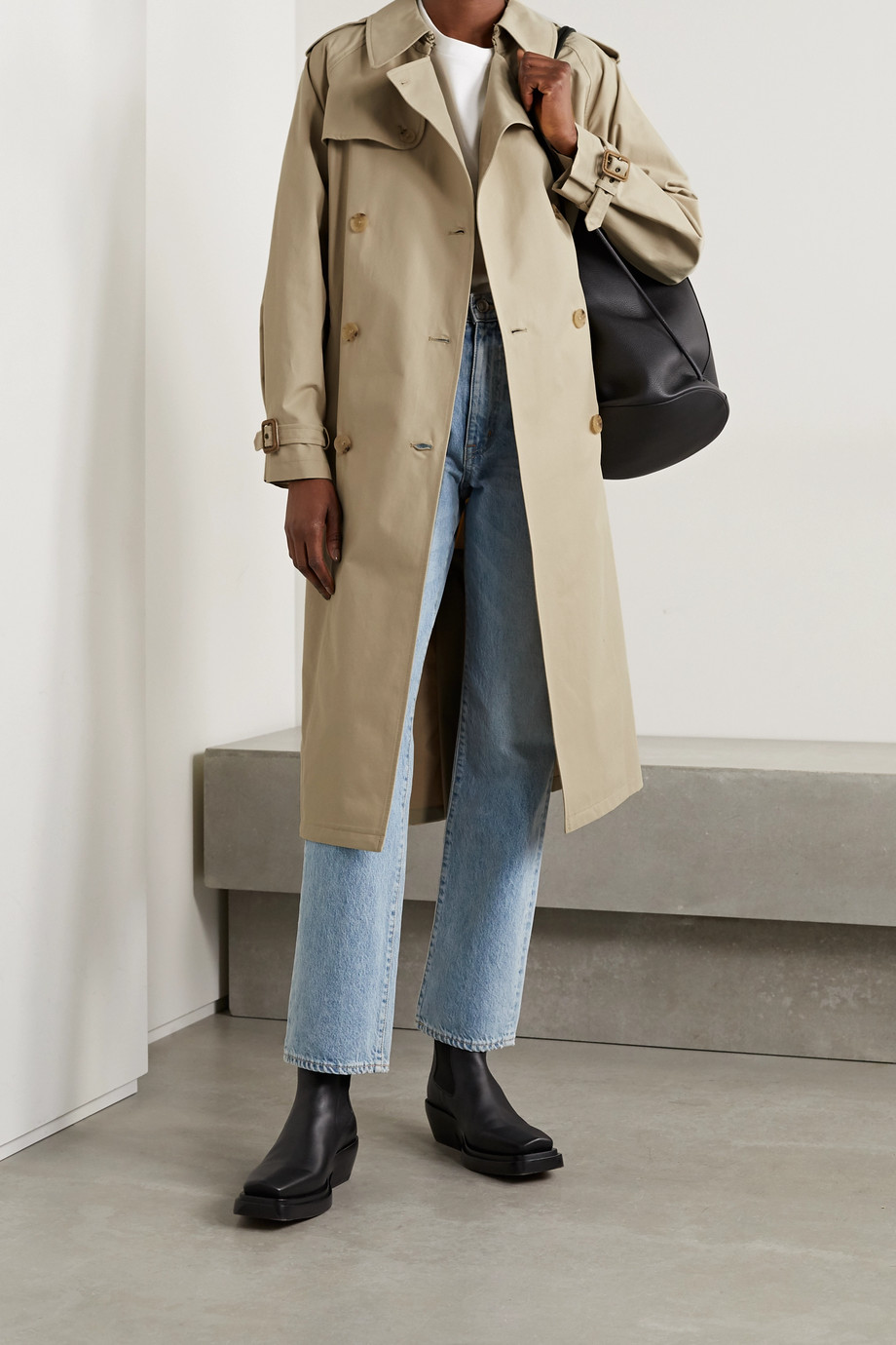Nili Lotan Tanner cotton-blend trench coat