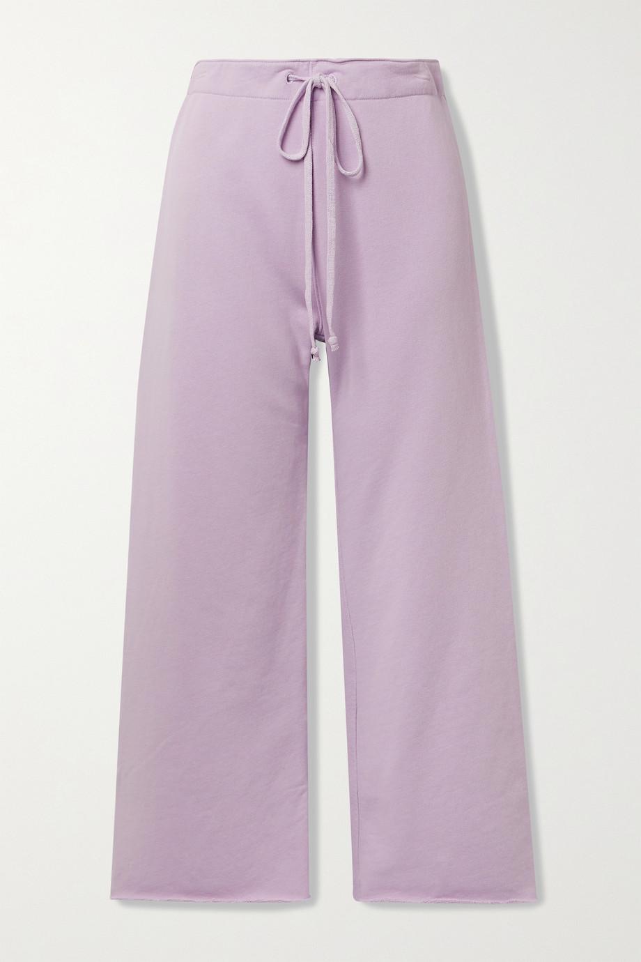 Nili Lotan Pantalon de survêtement raccourci en jersey de coton Kiki
