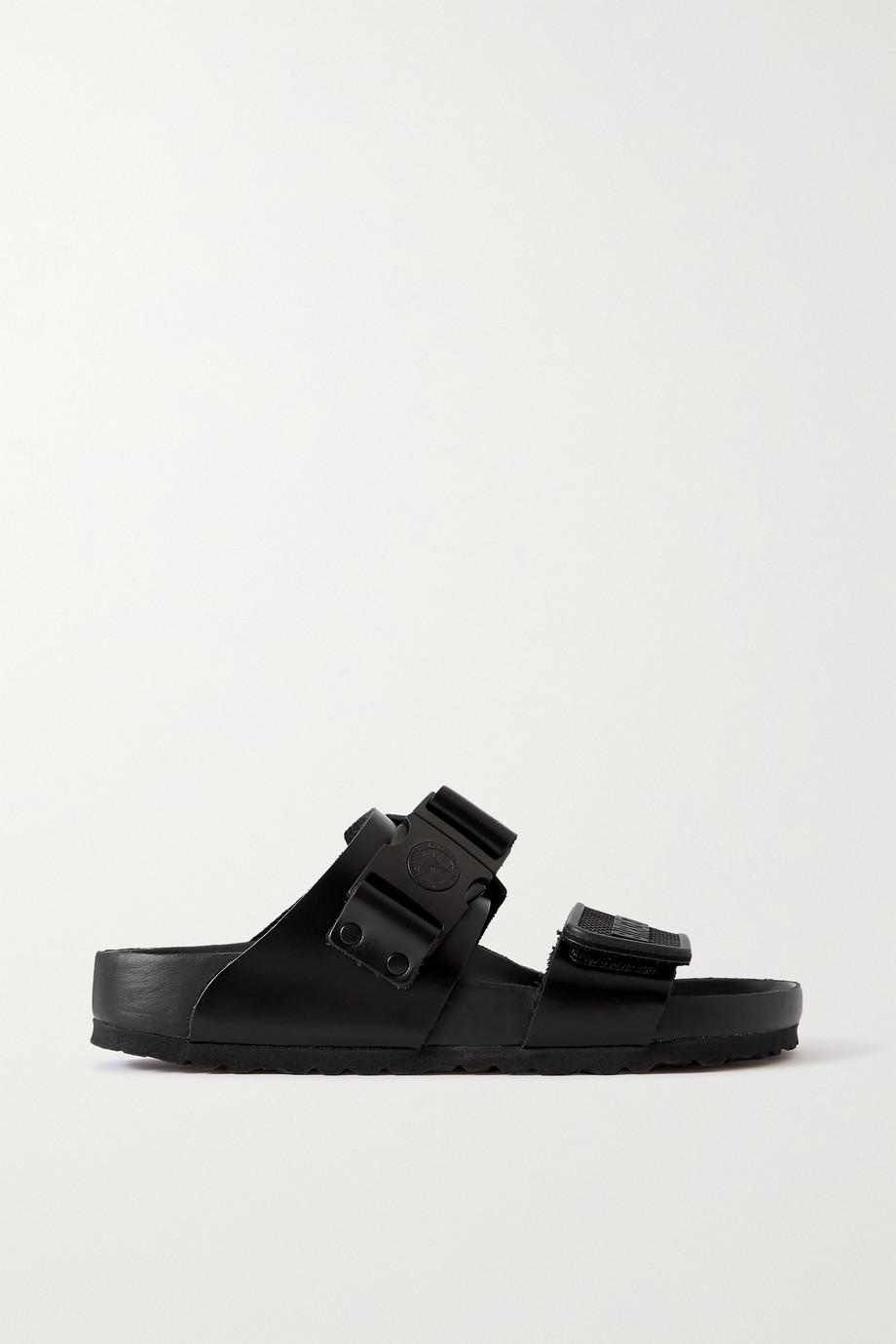Rick Owens + Birkenstock Rotterdam leather sandals