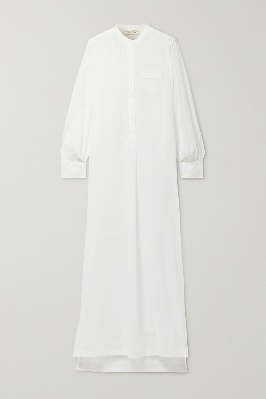 Nili Lotan Sandra cotton-voile maxi dress