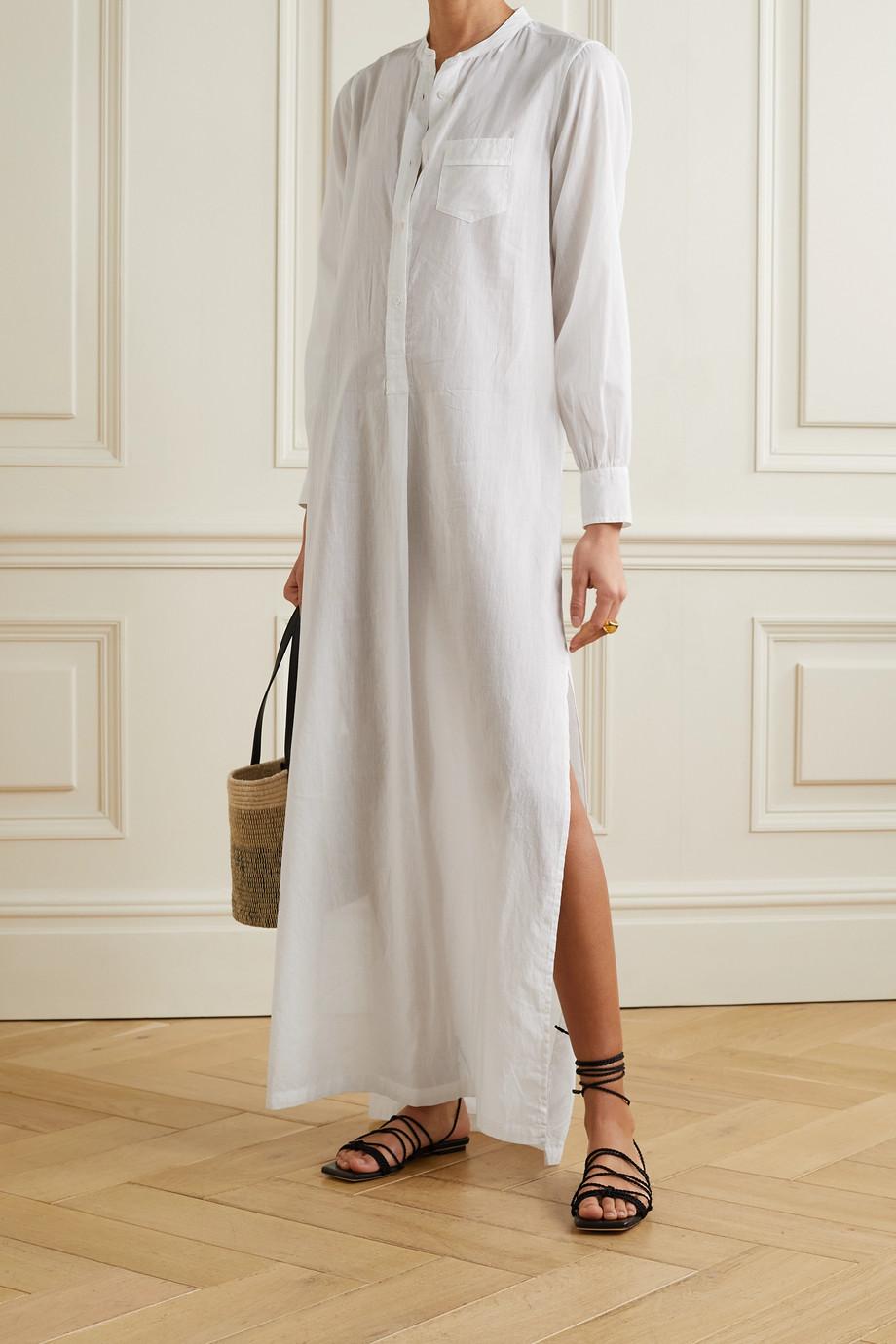 Nili Lotan Robe longue en voile de coton Sandra