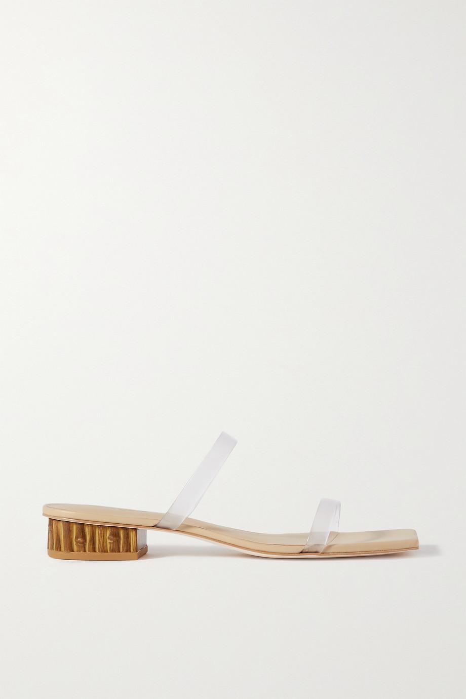 Cult Gaia Liz PVC sandals