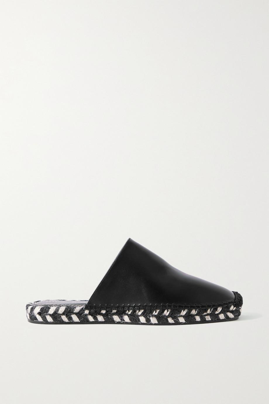 Proenza Schouler Leather espadrille slippers