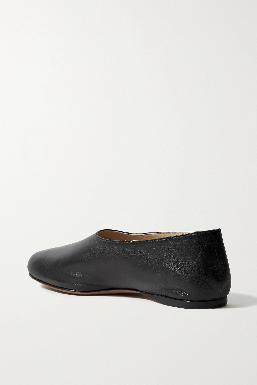 Proenza Schouler Rondo leather ballet flats
