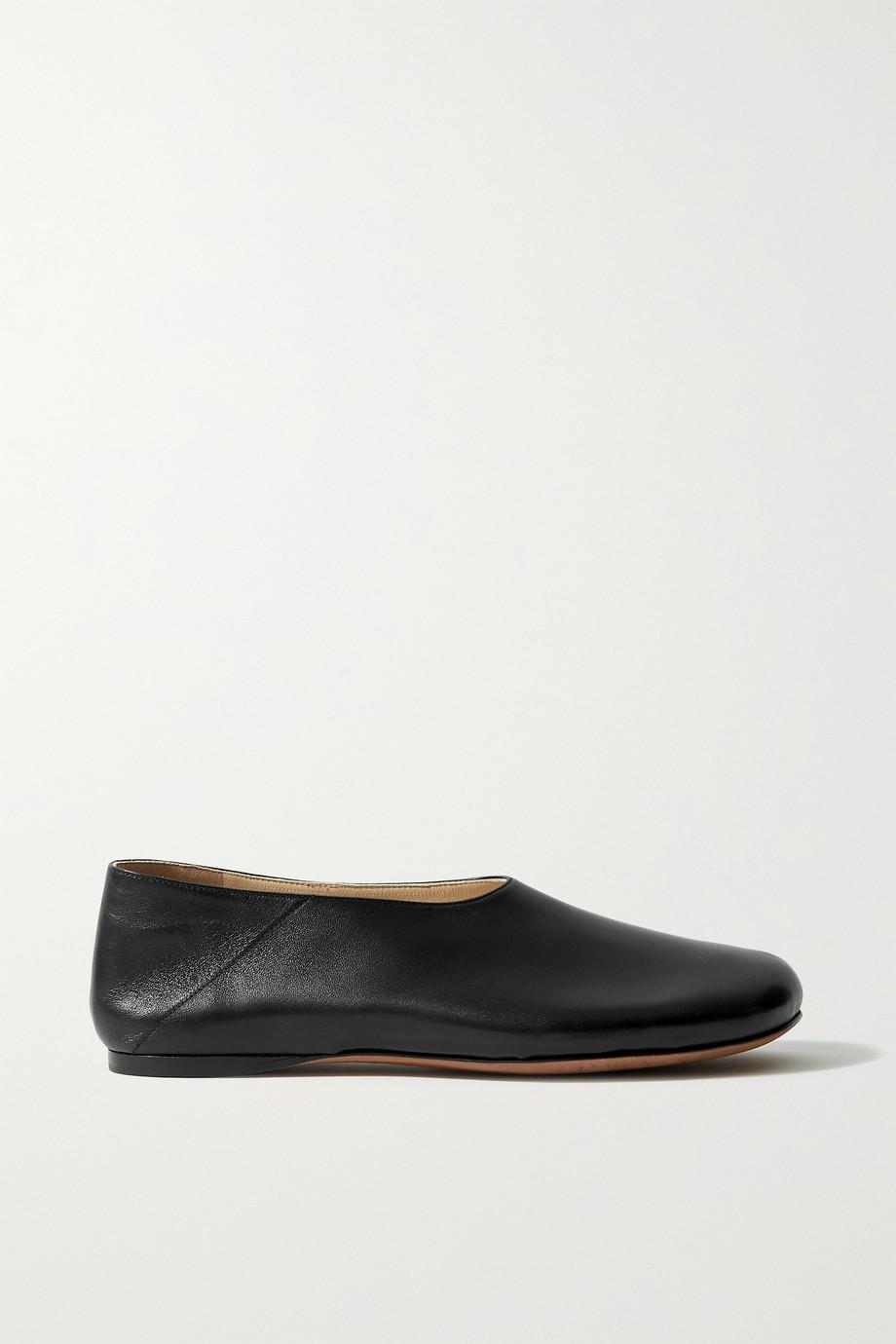 Proenza Schouler Rondo flache Schuhe aus Leder