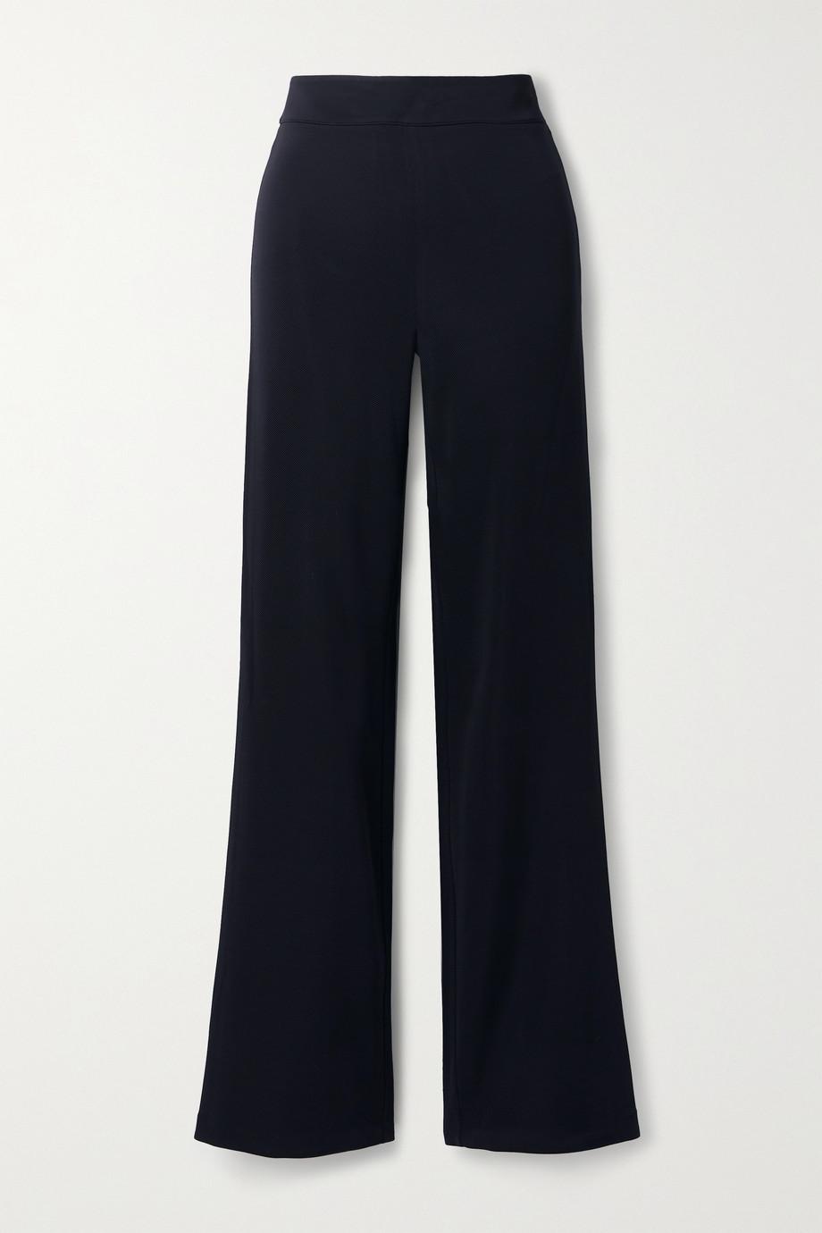 Safiyaa Pantalon droit en jersey stretch Lea