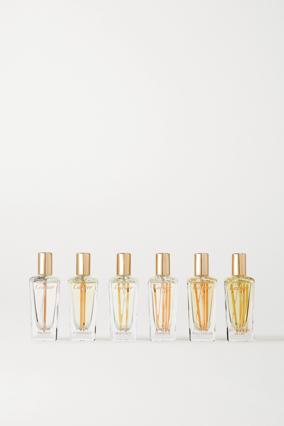 Cartier Perfumes Les Collections de Parfum, 6 x 15ml
