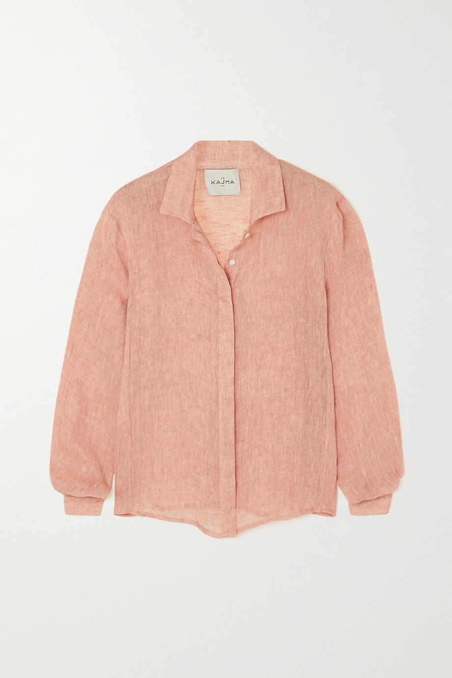 Le Kasha + NET SUSTAIN Sanbu organic linen shirt