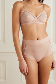 Eres Helas cutout stretch-cotton jersey briefs