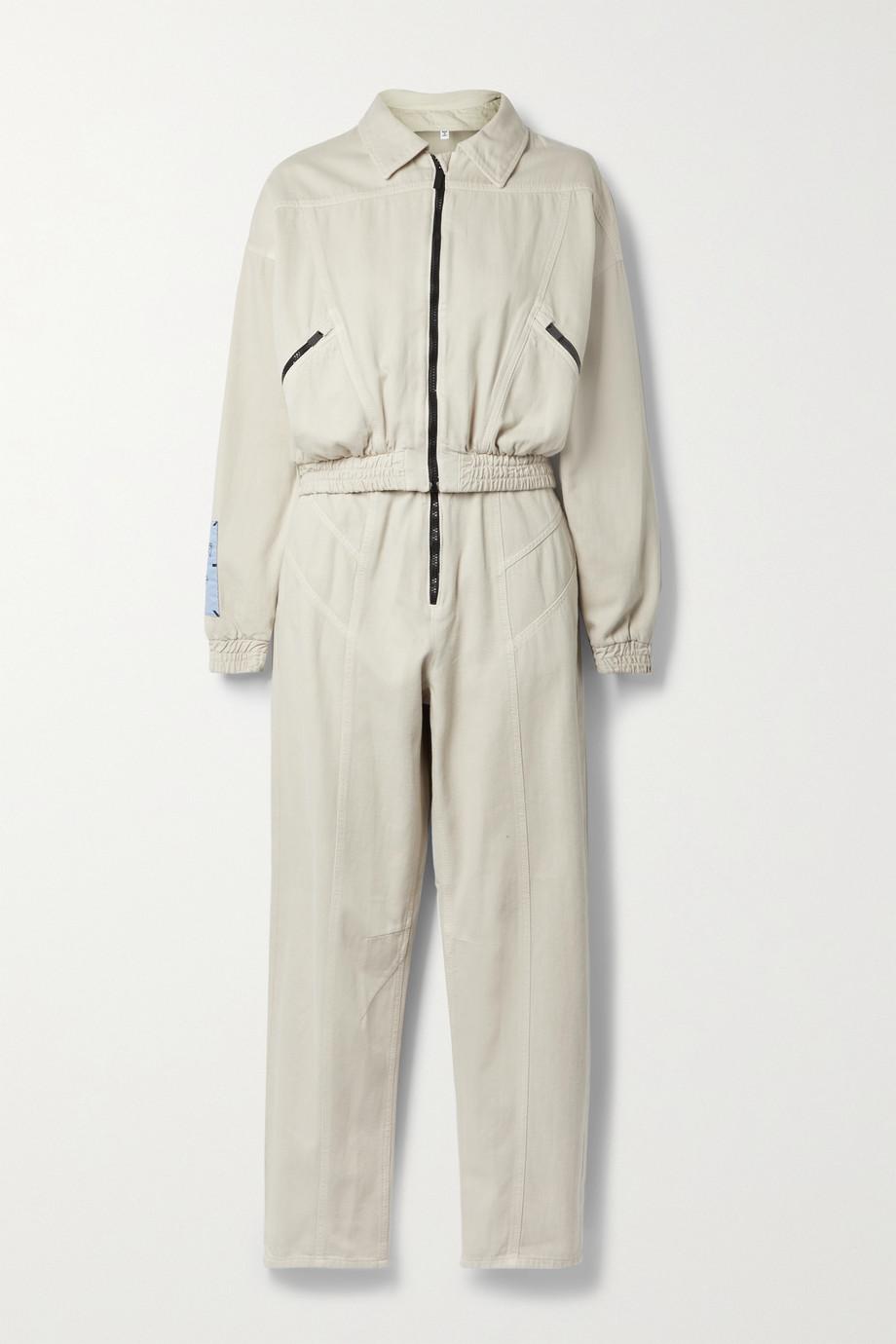 MCQ Fantasma convertible cotton and Lyocell-blend jumpsuit
