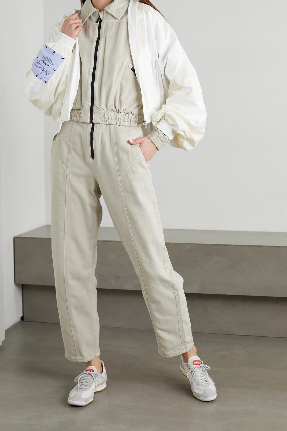 MCQ Fantasma two-tone shell jacket