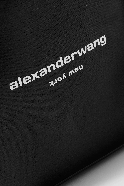 Alexander Wang Sac à main en satin imprimé à finitions en cuir Ryan