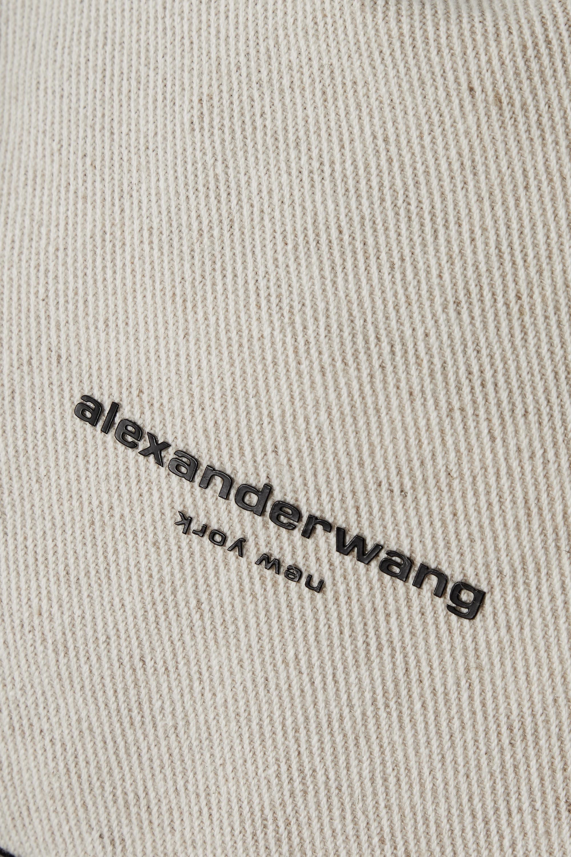 Alexander Wang Sac à main en serge à finitions en cuir Ryan