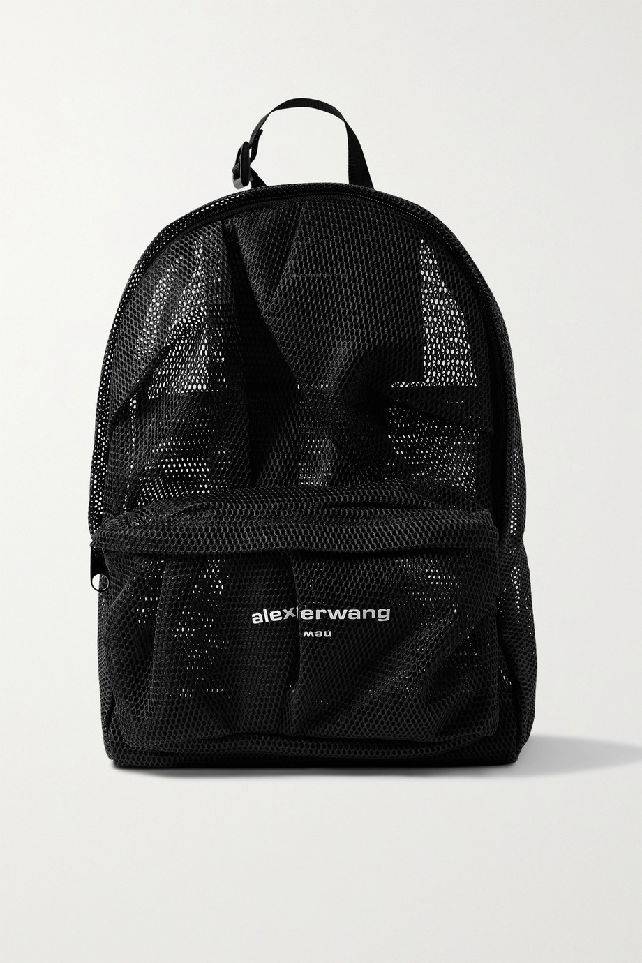 Alexander Wang Wangsport ruched printed mesh backpack