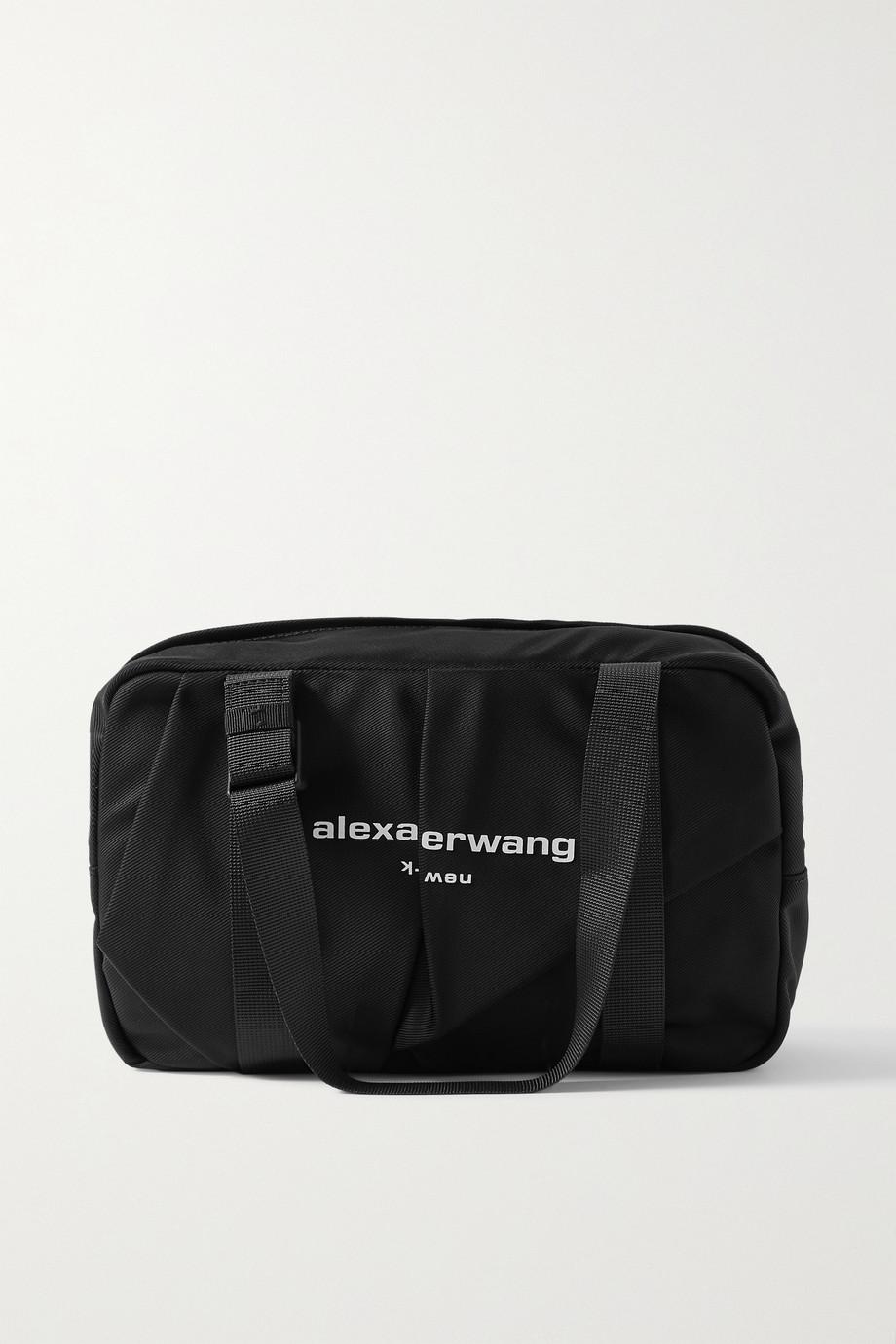 Alexander Wang Wangsport medium ruched printed nylon tote