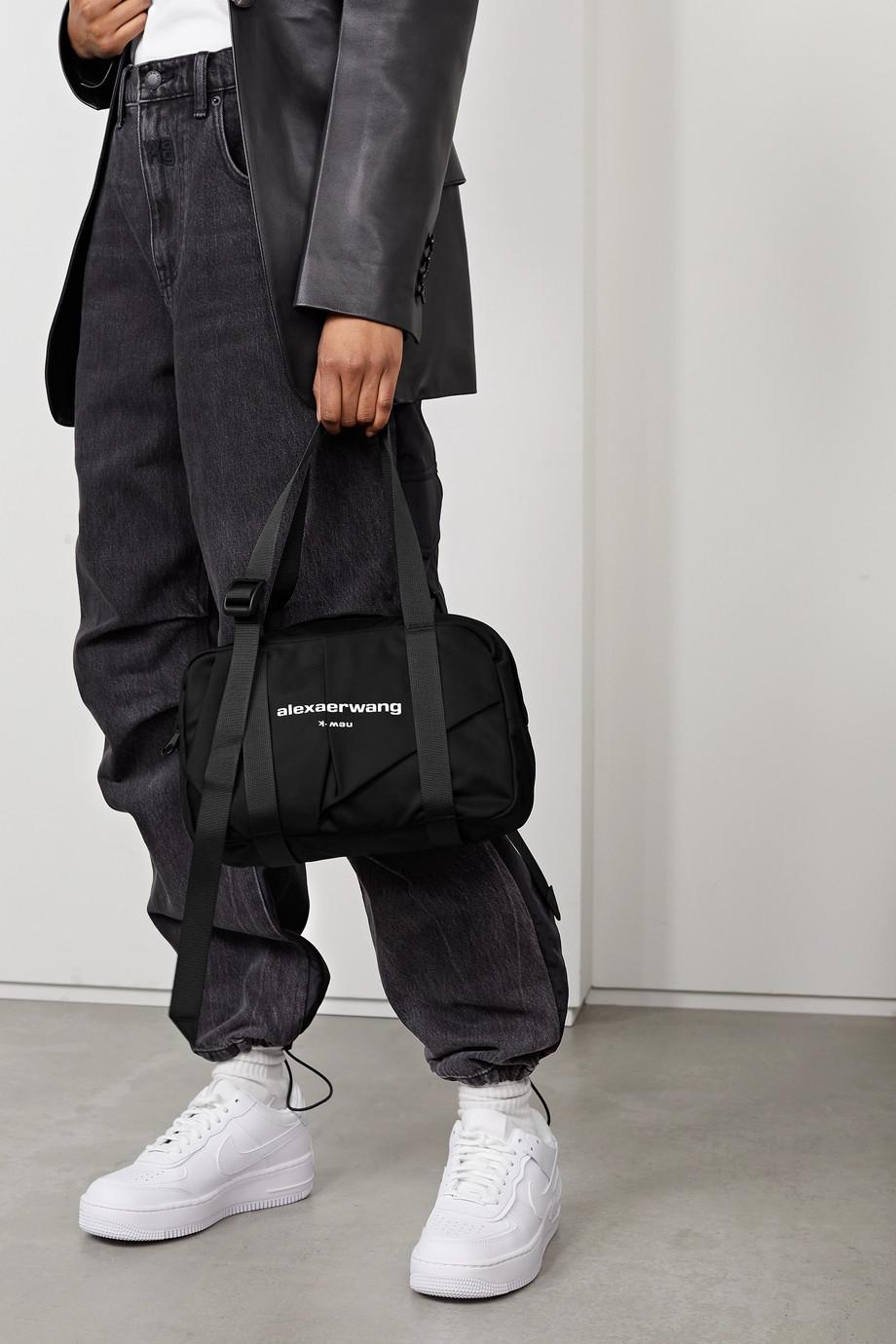 Alexander Wang Wangsport mittelgroße Tote aus Nylon mit Print