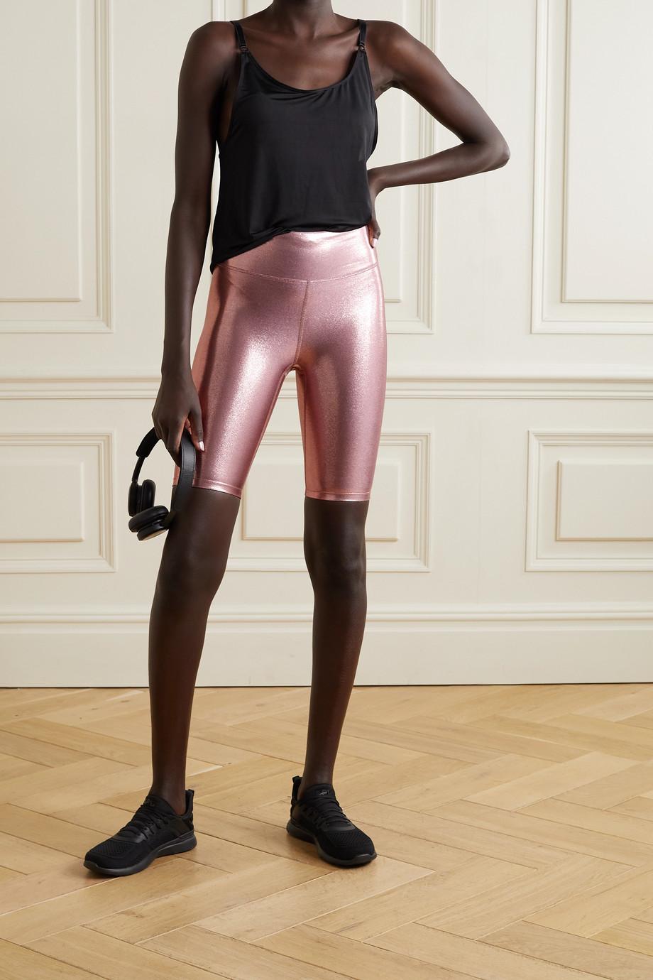 Heroine Sport Marvel metallic stretch shorts