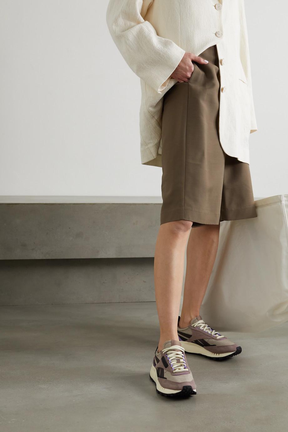 Reebok Baskets en daim, cuir et serge Classic Leather Legacy x A$AP Nast