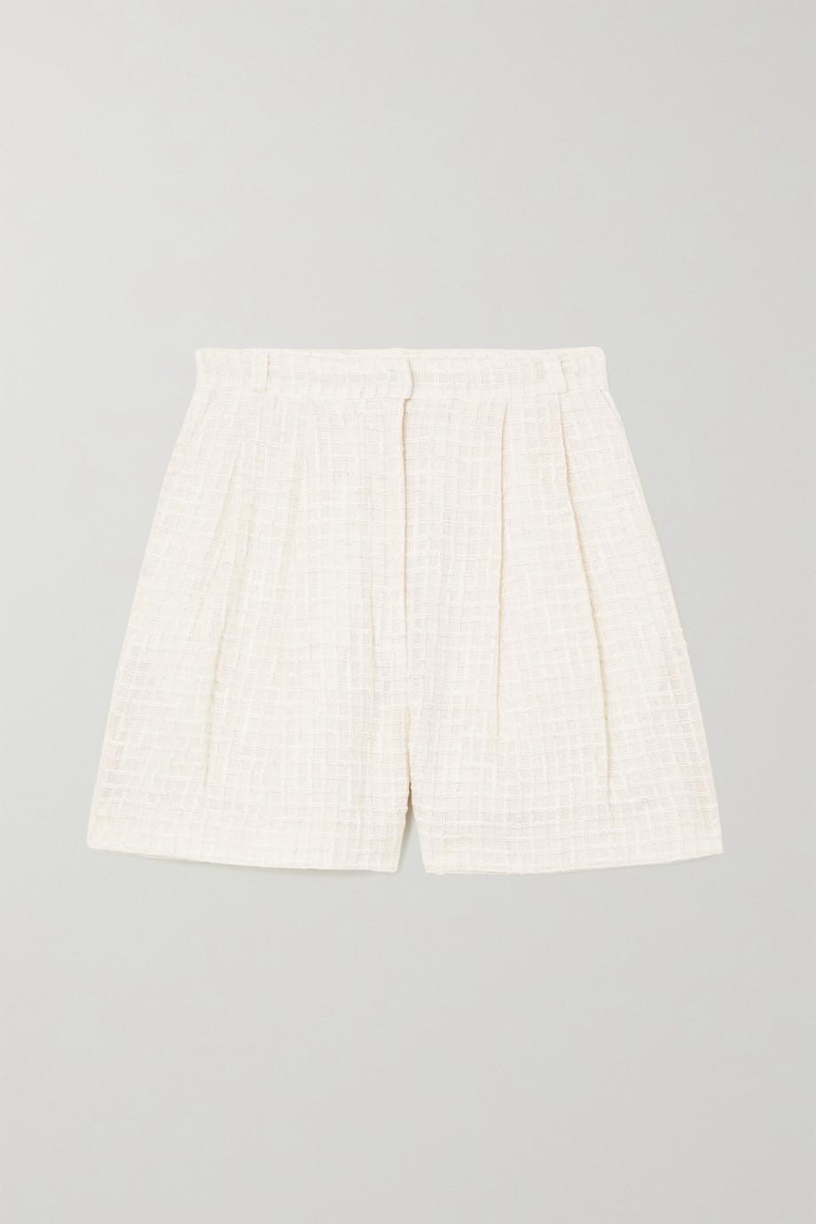 TOVE Short en tweed à plis Lana