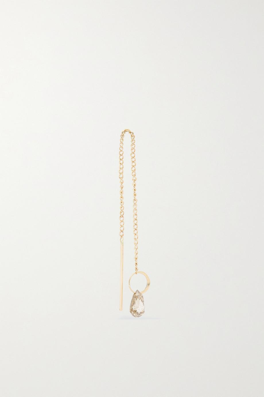 Melissa Joy Manning 14-karat recycled gold diamond earring